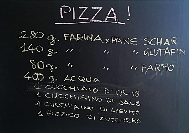 Pizza glutenfrre: ecco gli ingredienti per l'impasto.