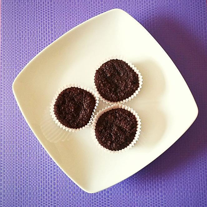 Muffins glutenfree al cocco e cioccolato