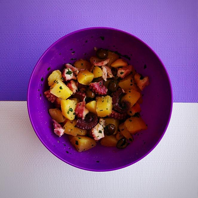 Insalata di polpo con patate: un gustosissimo piatto glutenfree