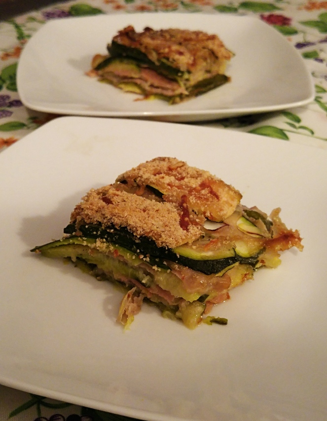 Parmigiana di zucchine senza glutine: golosa alternativa alla classica parmigiana di melanzane