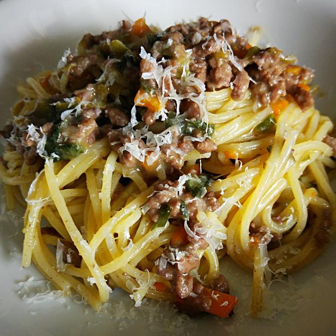 spaghetti glutenfree al ragù