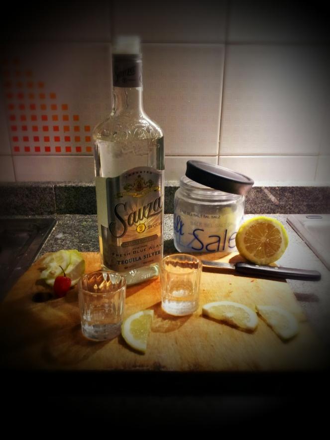 Tequila, sale e limone.