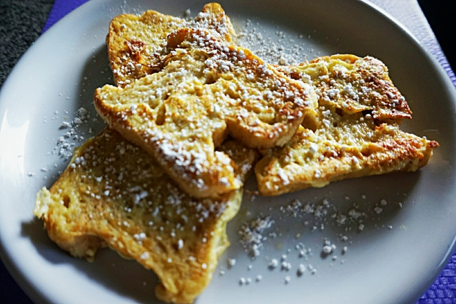 Pain perdu o French toast senza glutine