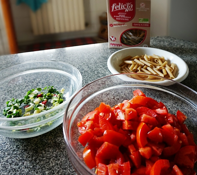 Sono davvero pochi gli ingredienti per questa ricetta senza glutine