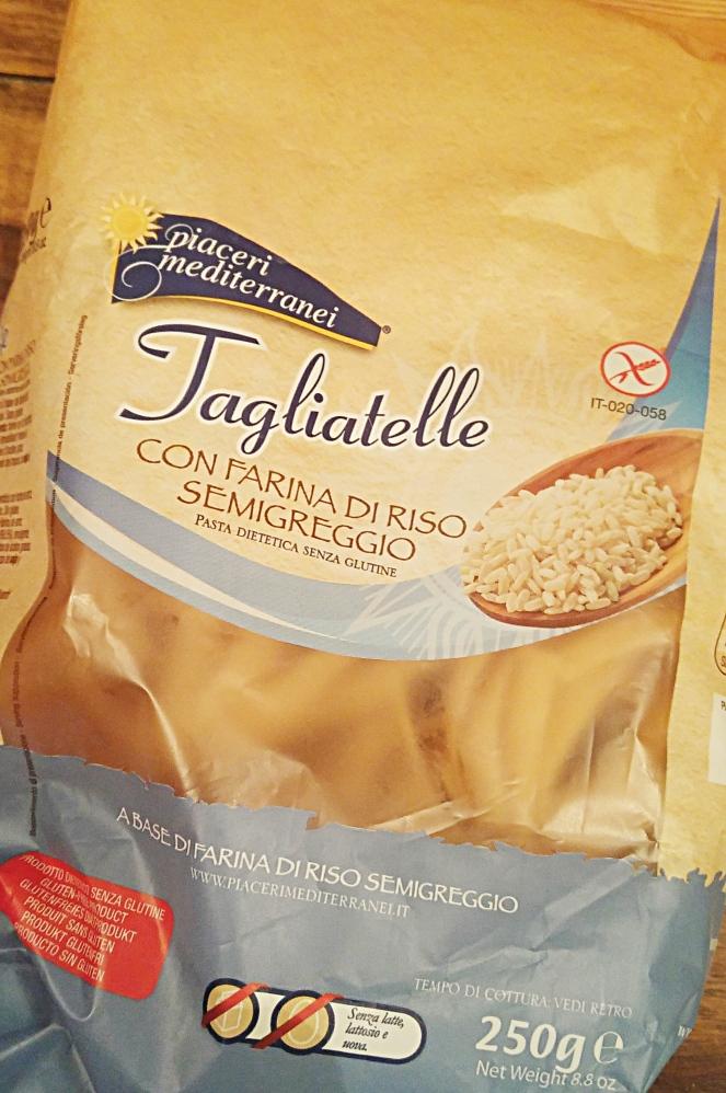 Il riso semigreggio delle tagliatelle prodotte da Piaceri Mediterranei unisce l'alta digeribilità delle fibre a un ottimo gusto e ad una masticabilità eccezionale senza coprire il sapore del sugo, ma esaltandolo.
