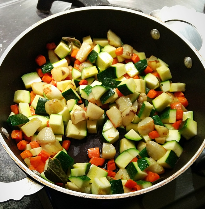 topinambur_carote_zucchine_in_padella